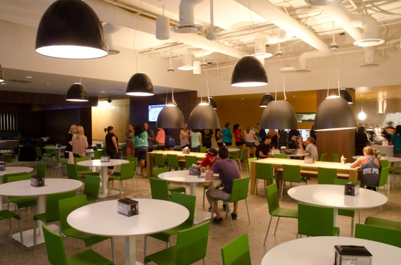New Cafeteria at Chapman University