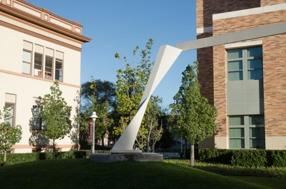 Sculpture At Chapman University